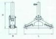 Съемник с винтовым приводом и механизмом центрирования захвата СВ10