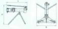 Съемник с винтовым приводом и механизмом центрирования захвата СВ5