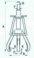 Съемник-хомут со встроенным приводом СГХА6