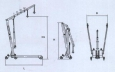Штабелер гидравлический ШГР - 0,5