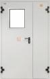 Металлические противопожарные двери серии ДПC-2