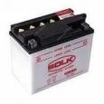 Аккумулятор  мото super MF 12V7  (506014-YTX7L-BS)  обр.пол. с приложенным эл-том BK32005