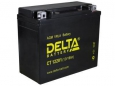 Аккумулятор Delta CT12201 12V 18Ah (YTX20L-BS, YTX20HL-BS, YB16CL-B, YB16L-B, YB18L-A) оп
