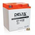 Аккумулятор Delta CT1230 12V 30Ah (YTX30L.YTX30L-BS.YTX30L-B) оп