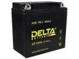 Аккумулятор Delta CT1210 12V 10Ah (YB9A-A, YB9-B) пп