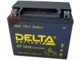 Аккумулятор Delta CT1212 12V 12Ah (YTX14-BS, YTX12-BS) пп