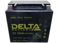 Аккумулятор Delta CT1214 12V 15Ah (YTX16-BS, YB16B-A) пп