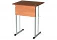 Стол ученический одноместный, нерегулируемый, разм. , разм.  600Х500Х760