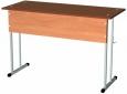 Стол ученический двухместный нерегулируемый, разм. , разм.  1200Х500Х760