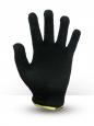 Перчатки хб 4 нитки черные