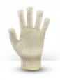 Перчатки хб 6 ниток белые