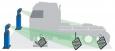 Стенд сход-развала для грузовых авто «Техно Вектор 7», «Truck»