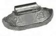 Грузик балансировочный, 20 гр, для стальных дисков, 100 шт