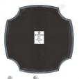 Пластырь «Rossvik», кордовый для диагональных шин, 120мм, 2сл