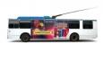 Мобильный билборд на троллейбус