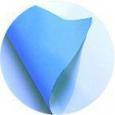 Печать на бумаге Blueback с голубой подложкой 110 гр/м2