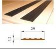 Накладка на ступени самоклеящаяся противоскользящая 29 мм х 25 м рулон в розницу