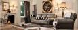 Итальянский диван, серый, классика