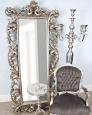 Напольное зеркало Меривейл (florentine silver)