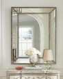 Зеркало в раме Джонатан (florentine silver)