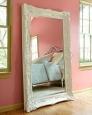 Зеркало в раме Ла-Манш (distressed chalk white)