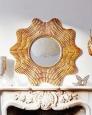 Зеркало в раме Марайа (19c. gold)