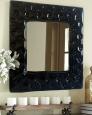 Зеркало в раме Монза Черный