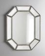 Зеркало в раме Ньюпорт (florentine silver)