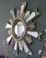 Интерьерное зеркало Латерза (Antique silver)