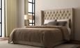 Кровать, натуральная кожа