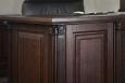 Стол для кабинета (темный)