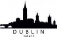 Наклейка «Дублин»