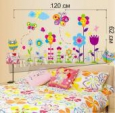 Наклейка «Яркий набор цветов (60 х 120 см)»