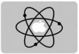 Наклейка «Атом»