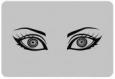 Наклейка «Гипнотический взгляд»