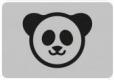 Наклейка «Панда»