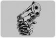 Наклейка «Пистолет»