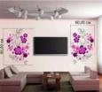 Наклейка «Цветы на стену»