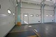 Промышленные секционные ворота ШхВ 3850х4835, подъем высокий