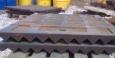 Плиты дробящие для конусных и щековых дробилок