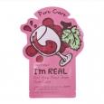"Тканевая маска для лица с экстрактом красного вина TONY MOLY ""I`m Real Red Wine Mask Sheet Pore Care"" 21 мл"