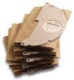 Бумажные фильтр-мешки для пылесососв серии (WD 2.200, MV 2) 5шт/упак
