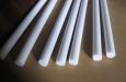 Стержни из фторопласта-4, изготавливаемые методом экструзии (ТУ 6-05-041-535-74)