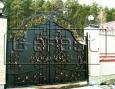 Ворота кованые, 4 категория. Стоимость за квадратный метр.
