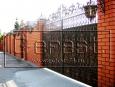 Ворота кованые, 3 категория