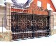 Ворота кованые, 4 категория