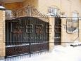 Ворота кованые, 2 категория
