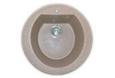 «Rondo» GF-R500, круглая мойка с отверстием под смеситель
