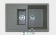 «Quadro» GF-Q775KL, реверсивная 2 секционная мойка
