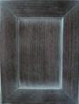 Фасад: шпон палисандр + спецэффект - патина